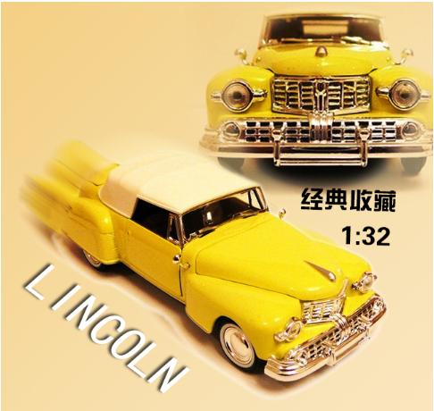 【欧美】年底促销 二件包邮1948Lincoln 林肯经典车模型收藏
