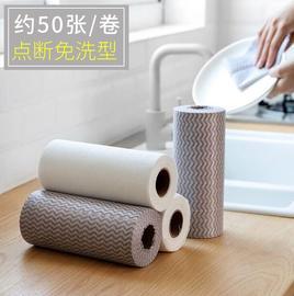 一次性免洗抹布洗碗巾厨房不沾油吸水清洁巾洗碗布百洁布 50片装图片