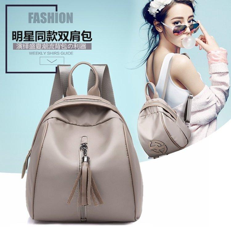 2020夏季新款女士包袋单肩斜挎PU单肩包其他合成革纯色拉链