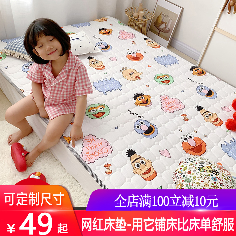 软垫1.8 m床褥子双人折叠床单床垫有赠品