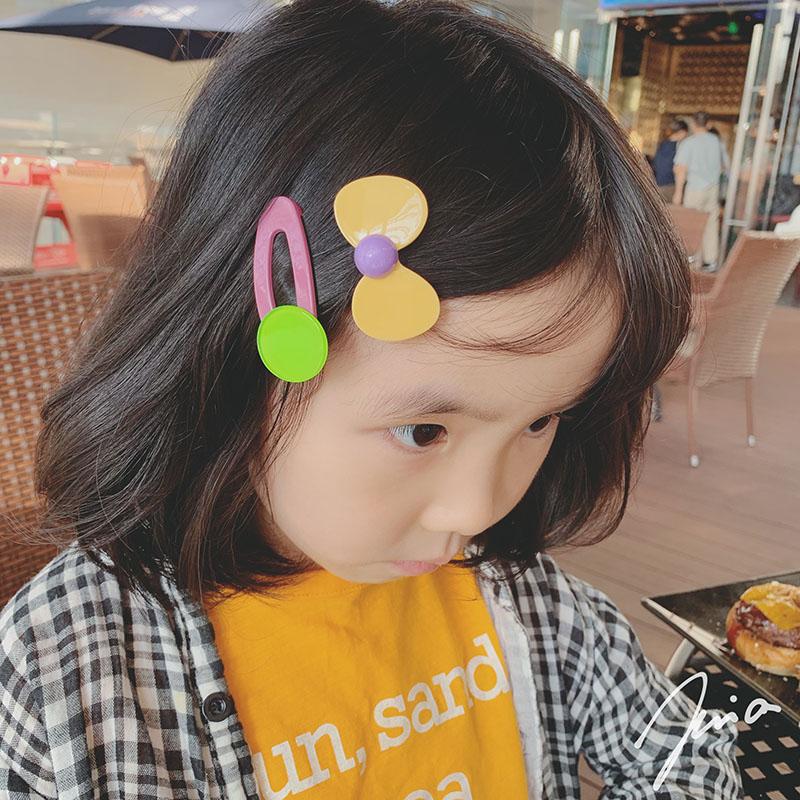 热销29件手慢无儿童发夹女韩国头饰公主可爱发卡碎发夹刘海夹子不伤发时尚两件套