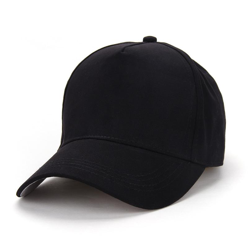 男女圆顶鸭舌帽 多色可选批量广告帽全包纯色鸭舌帽 来图定制LOGO