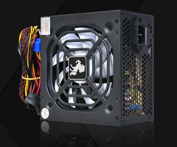 佰珑玛电源 探路者500W 智能温控 静音 台式机电源 大风扇
