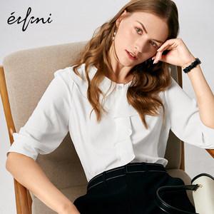 伊芙丽女设计感小众2019新款衬衫