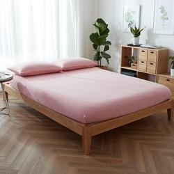 天竺棉床笠单件全棉床罩1.35米1.2m床单1.8纯棉床套针织棉1.5床签