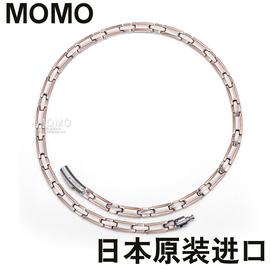 送礼物日本进口磁疗保健康磁石项链钛项圈缓解颈椎疼痛脖子腰酸痛图片