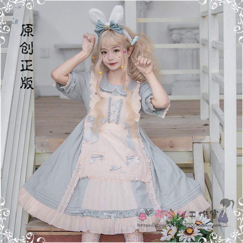 热销5件不包邮洛丽塔lolita洋装正版公主全连衣裙