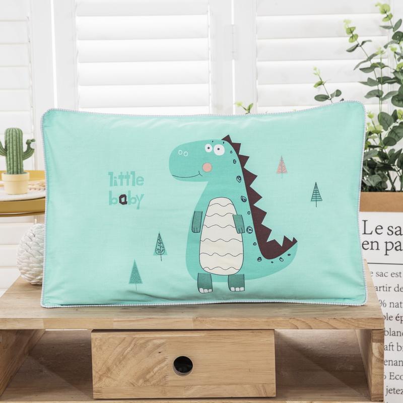 儿童卡通枕套30×50一对装全棉纯棉家用单个记忆枕头套单人40x60