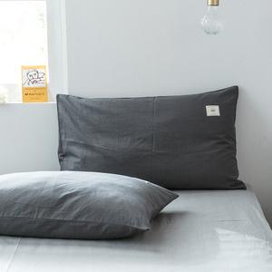 全棉枕套一对装枕头套子单人单个加厚纯棉枕芯内胆套记忆枕枕芯套
