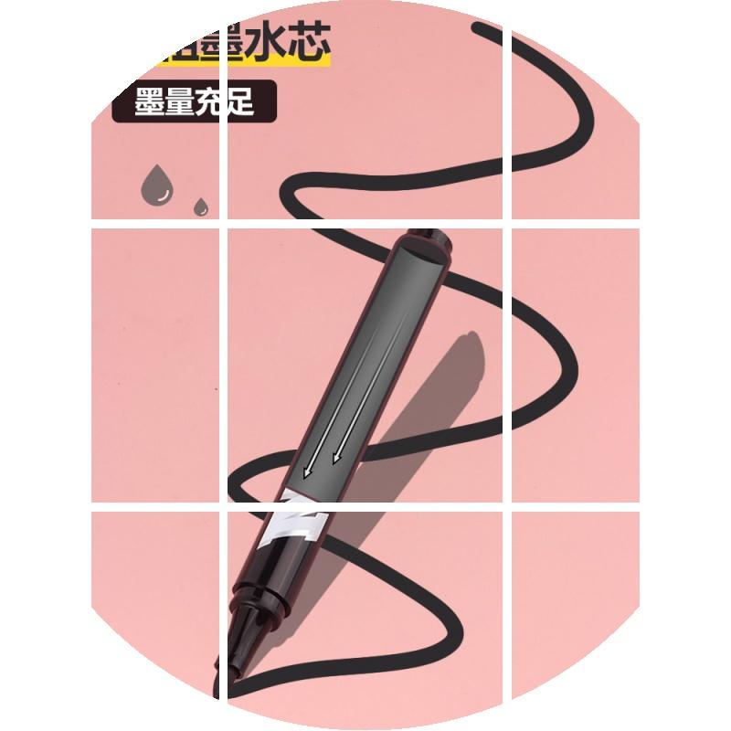 中國代購|中國批發-ibuy99|马克笔|记号笔 批发 黑色红色马克笔勾线笔 油性笔不易掉色快递 大头笔海