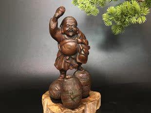 日本铜器财神大黑天东密宗教七福神像-摆件*收藏品*精工图片