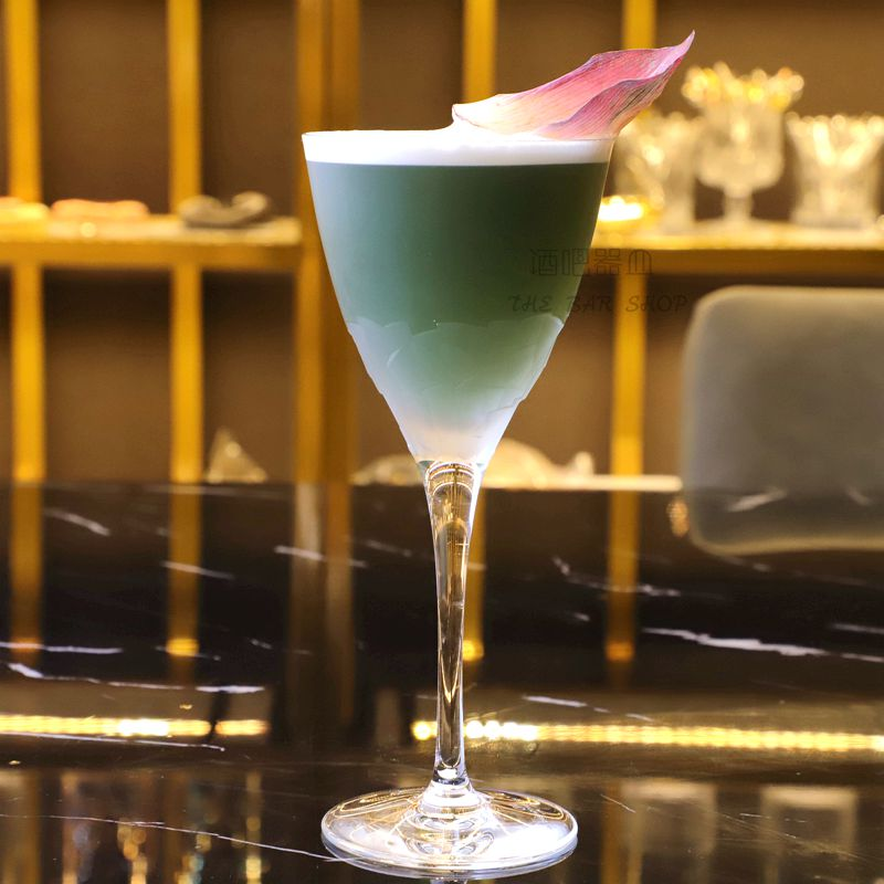 酒吧器皿进口水晶马天尼杯鸡尾酒杯