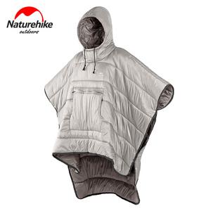 Naturehike挪客便携野营被子户外露营防寒睡袋人形冬季可穿式斗篷