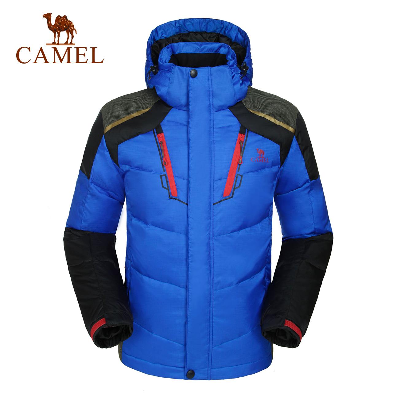CAMEL верблюд на открытом воздухе мужской куртка осень и зима теплый закрытый ветролом вниз одежда мужчина