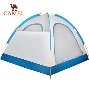 CAMEL 骆驼户外帐篷 3-4人 野外露营双层防雨户外帐篷
