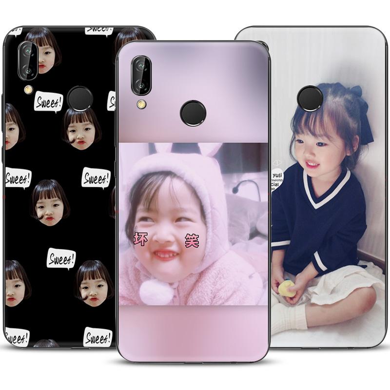 韩国权律二表情包华为nova3手机壳创意网红nova3i软壳可爱潮 女款
