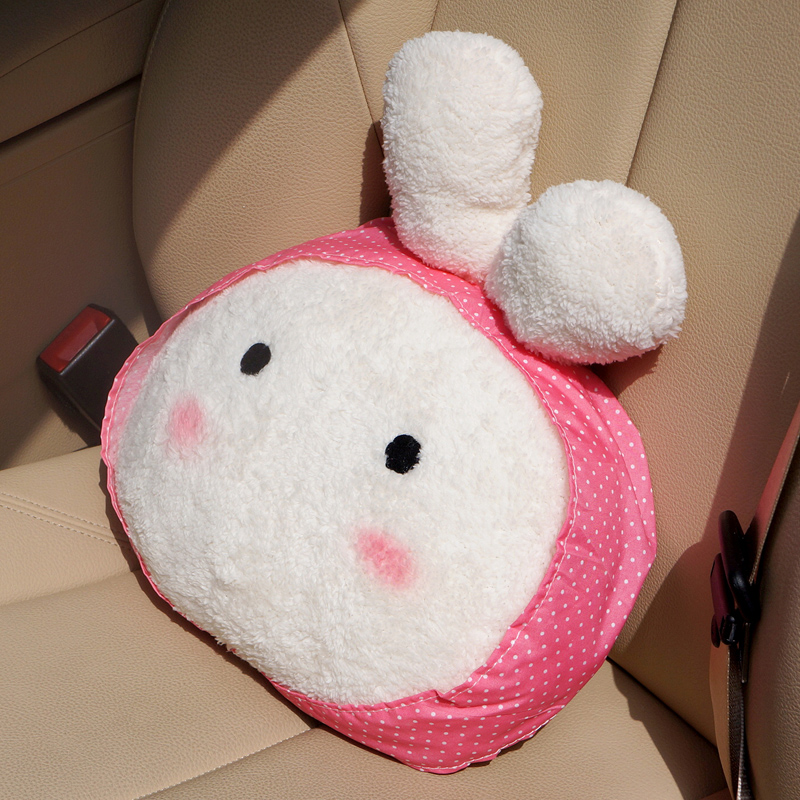 Memory Foam Neck Pillow Car Neck Cushion With Bear Pattern