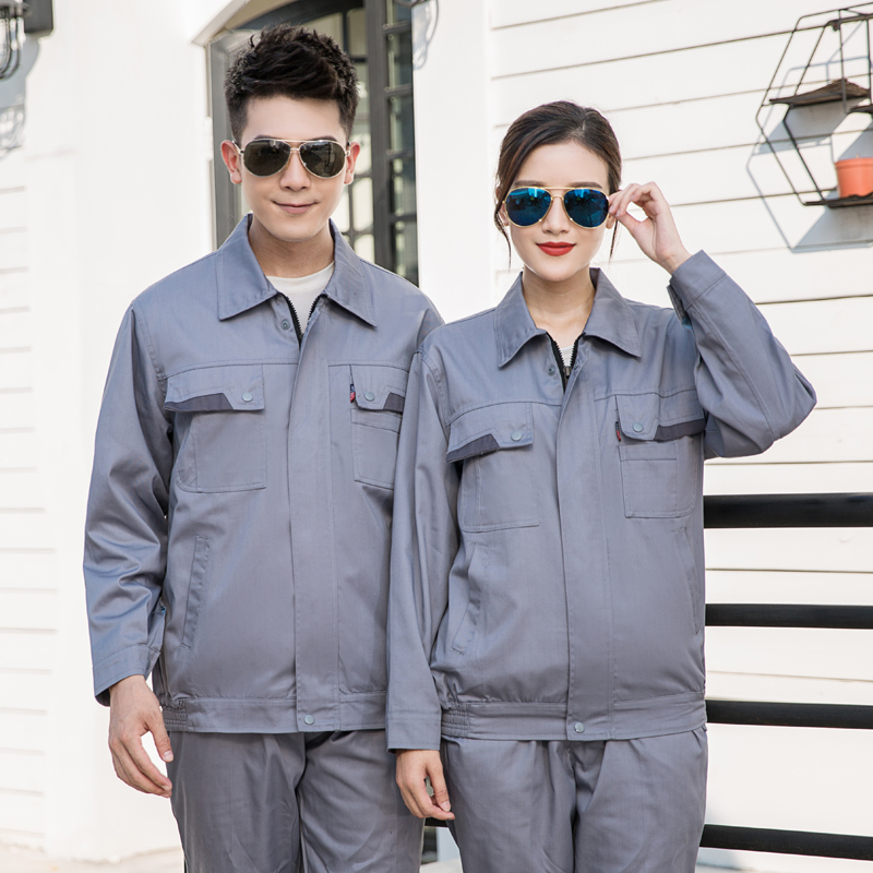 Autumn and winter double-layer anti-static uniform long sleeve Power Supply Bureau Power Grid electrician clothing railway supervision clothing electrician railway installation