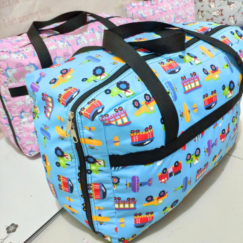可爱幼儿园装被子的袋子被褥收纳袋行李包防水学生衣服打包搬家袋