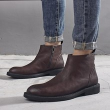 Good quality Men Winter Martin Boots Male Shoes 男马丁工装靴