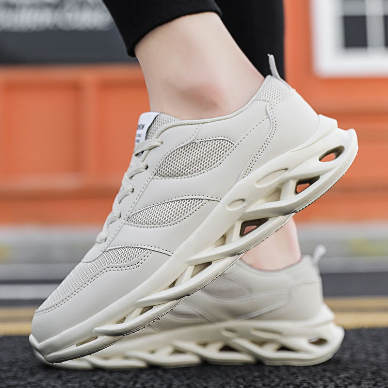 Summer breathable mens shoes 2020 new Korean sports casual shoes net top low top fashion shoes 5cm