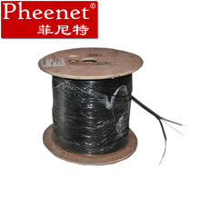 One core, two core and four core outdoor fiber optic cable with small bending radius g657a and gjyxch