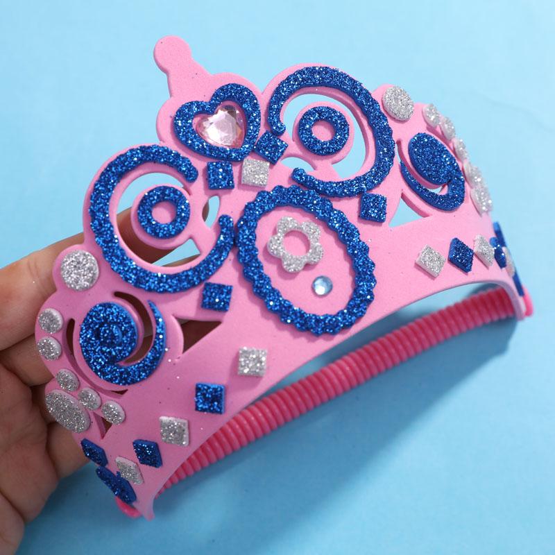 包邮 小公举爱不释手的DIY玩具~儿童串珠贴纸手工套装一套4款 50g