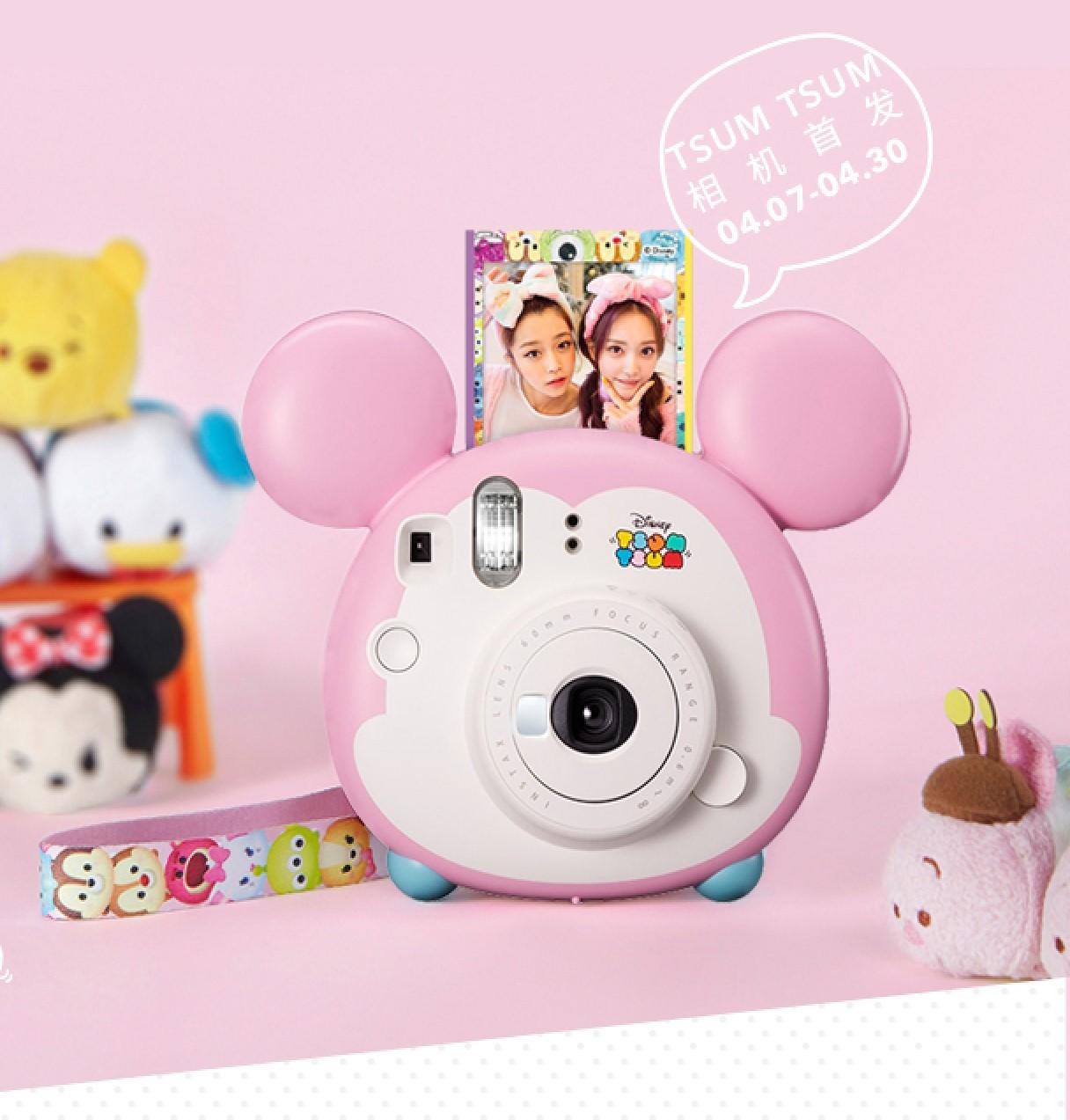 富士相机instax mini9套餐含拍立得相纸情人圣诞礼物迪士尼限量版