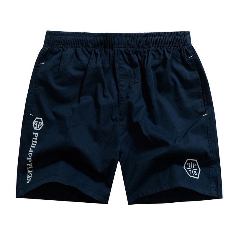 Xia Chao mens cotton three-part pants loose Korean breathable beach pants home quick drying shorts leisure sports pants pajamas
