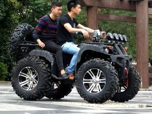 大公牛四轮沙滩车摩托车越野车250cc水冷发动机差速器传动轴