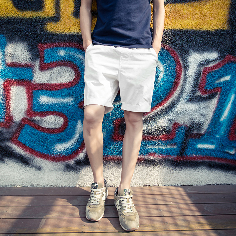 Large size cotton shorts mens pants Korean Trend 2020 summer new fashion brand ins loose casual pants