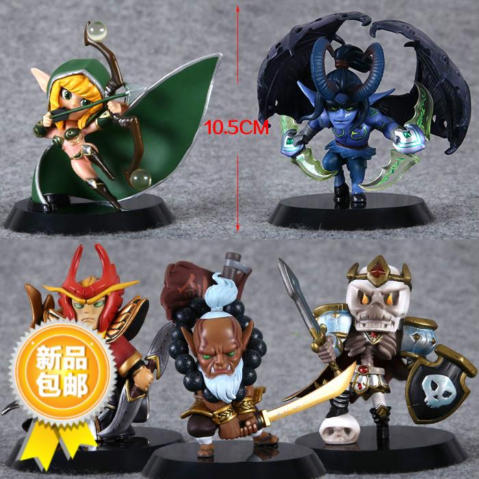 刀塔連盟DOTA 2ゲーム周辺刀塔剣聖風行者の魂を守るQ版フィギュア人形