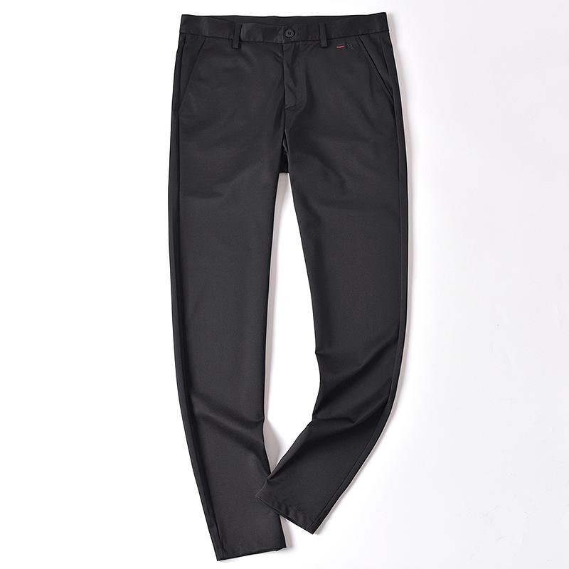 镇店劲裤 四种材质混纺 动物刺绣设计 男款时尚百搭修身休闲西裤