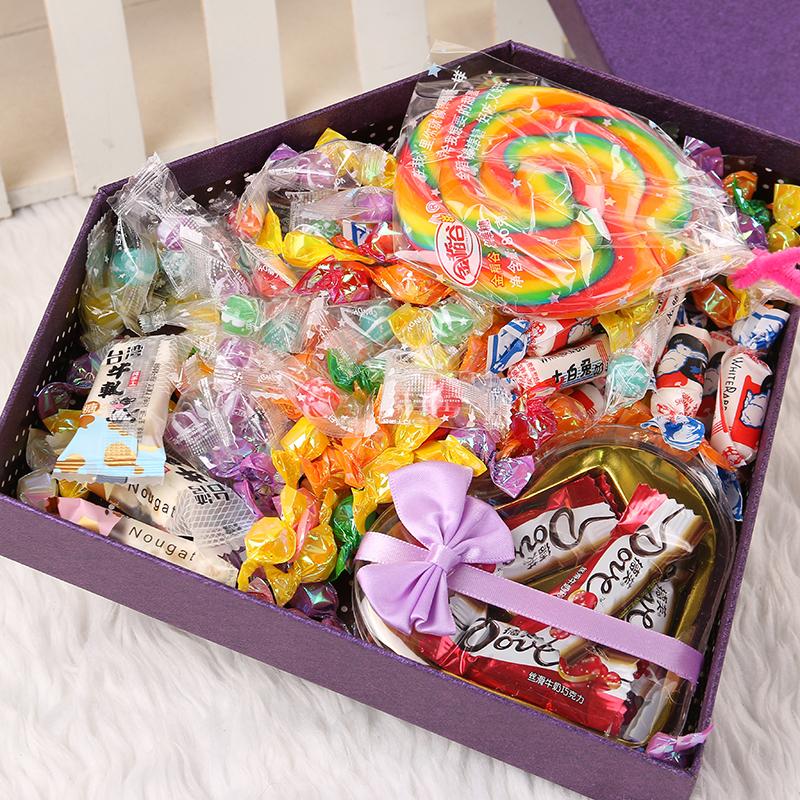 糖果大礼包混装多口味生日礼物520女友零食女生千纸鹤糖果礼盒装10月24日最新优惠
