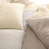 简单干净和舒服!纯色搭配全棉双层纱布单件床单被套床笠可定制