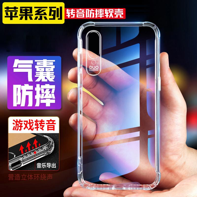 6 Dトランシーバーはiphone 11 pro XR XR XS MAX携帯ケースアップル6 S 7/8 plusカバーが適用されます。