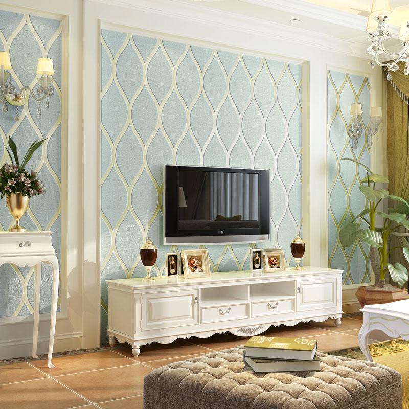 现代简约线条纹3d立体无纺布墙纸卧室客厅餐厅书房背景电视墙壁纸