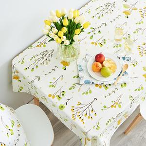 防水防油免洗欧式田园布艺桌布