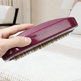 韩国床刷清洁床上吸尘扫床刷子防静电鬃毛网红地毯除尘刷家用神器图片