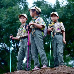 登山杖 儿童手杖户外装备多功能徒步爬山拐杖轻便行山杖伸缩拐棍