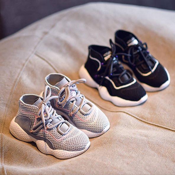 2020春秋新款男童运动鞋女童网红老爹鞋儿童休闲鞋中大童韩版学生