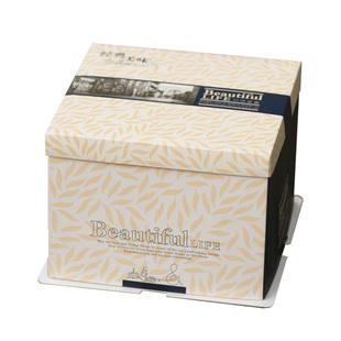 田園風格6寸生日蛋糕盒8寸10寸12寸14寸烘焙包裝盒子免郵加印定製