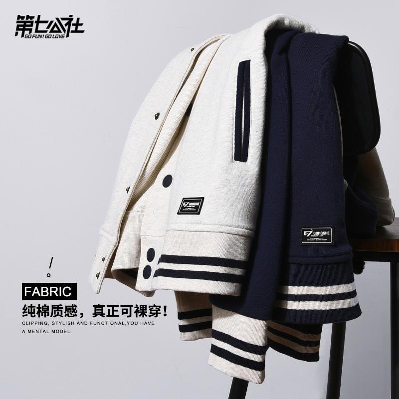 热销190件假一赔三男潮牌韩版春秋2019新款潮棒球服