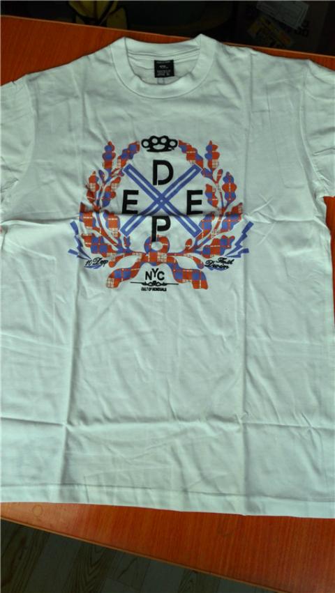 3件59元 全国包邮 10 DEEP 潮牌T恤外贸余单 质量超好 不松不起球