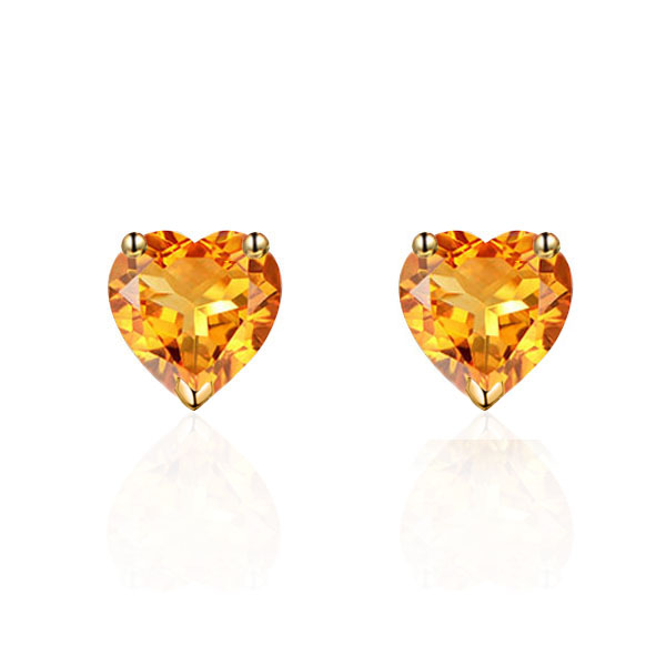 18 Karat Gold Sapphire Diamond Earrings direct sale to xielung jewelry factory