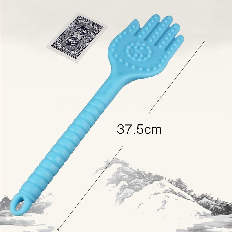 硅胶经络拍按摩锤手拍掌养生健康拍打板健身保健拍痧板棒