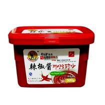 正宗吴文善户户韩国辣椒酱500克韩式拌饭炒年糕甜辣酱3盒包邮