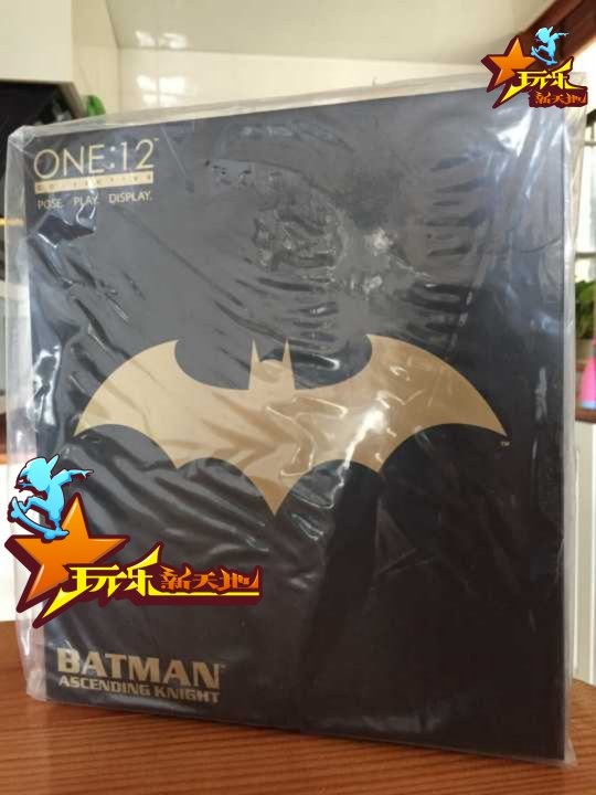 现货 正版Mezco会场限定 初代纯黑元年 蝙蝠侠 全黑版 全球限量