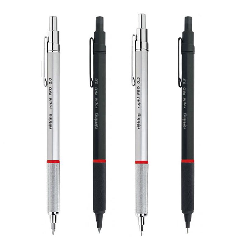 德國rotring紅環Rapid pro自動鉛筆 金屬伸縮筆頭活動鉛筆比600好