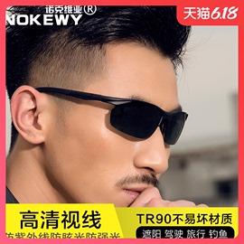 2020新款TR90男士太阳镜运动偏光镜钓鱼开车专用墨镜驾驶夜视眼镜图片